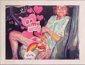 pintoras latinoamericanas dignificacion_ternura_comicidad_ancianidad_sexualidad