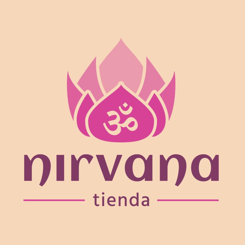 nirvana tienda logo branding
